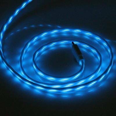 Micro USB Flow Light LED Visible Data Sync Charger Cable For iPhone 5/6 Android