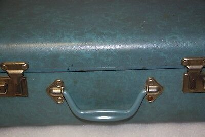 vintage school case suit case carry case storage case made in Australia Cheny
