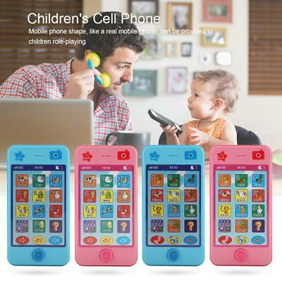 Child Simulator Music Cell Phone Touch Screen Educational Learning Baby Toy Gift