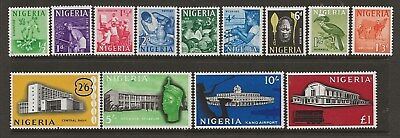 Nigeria  Sg 89/101  1961 Set Of 13   Unmounted (No Hinge) Mint