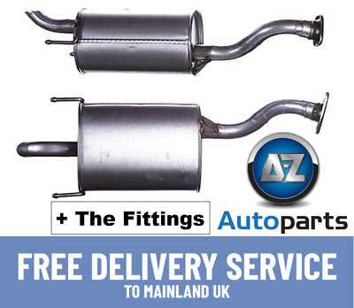 Honda Jazz II 1.4 Petrol MPV 02-2009 Rear Exhaust Silencer- HA320D  18030SAA000