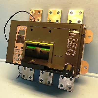 Square D RKF36120U44A RK 1200 Amp PowerPact Circuit Breaker w/ 1200A S144A LSIG