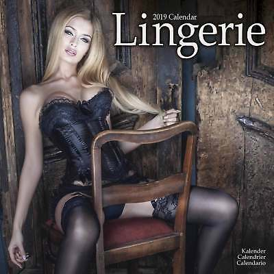 Lingerie Calendar 2019 Models Month To View