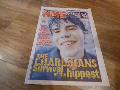 Nme - 4/11/95, The Charlatans / Alanis Morissette / Goldie / Kim Deal / Placebo