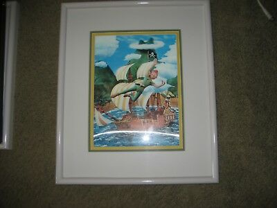 Disney Peter Pan 3D Framed and Matted