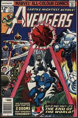 Avengers #169 Vs The Eternity Man! Glossy Cover Pure White Pages!