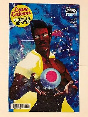 Cave Carson #1 Has an Intersellar Eye CVR B Variant DC Comic 1st Print 2018 NM