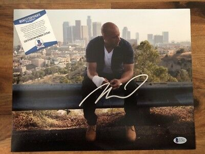 VIN DIESEL SIGNED 11X14 FAST & FURIOUS Autographed PHOTO BAS Beckett CERTIFIED