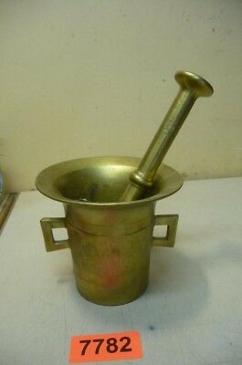 Nr. 7782.  Alter Bronzemörser Bronze Mörser Old  Apothecary Mortar and Pestle