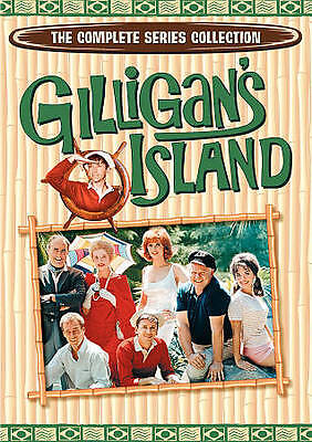 Gilligans Island: The Complete Series Collection (DVD, 2011, 17-Disc Set) DVD