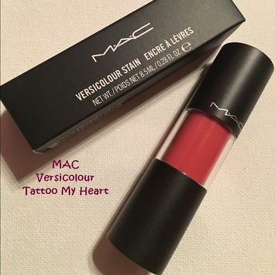 M·A·C Tattoo My Heart Versicolour Stain Warm Coral New In Box
