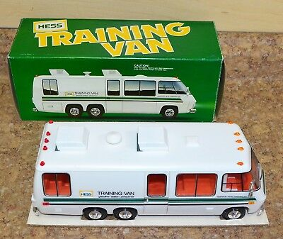Vintage 1980 Hess Training Van w/ Original Box Free Shipping