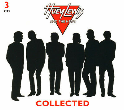 Huey Lewis & The News COLLECTED Best Of 57 Essential Songs COLLECTION New 3 CD