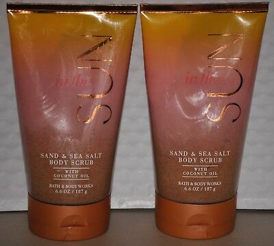 Bath & Body Works in the Sun Sand & Sea Salt Body Scrub x 2