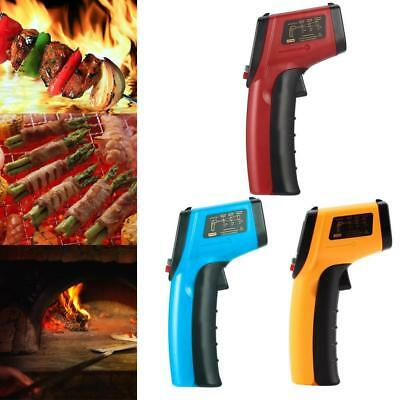LCD Digital Temperature Gun Sensor Messung Laser Infrarot IR Thermometer PW