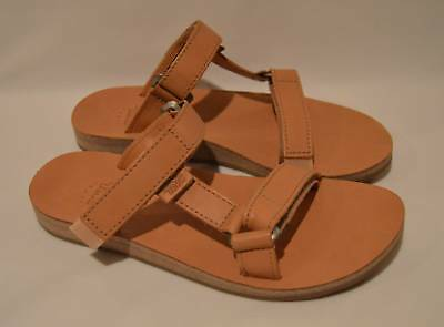 b448e1a6011 TEVA WOMEN S UNIVERSAL Slide Strap Leather Sandals Tan 1011501 Size ...