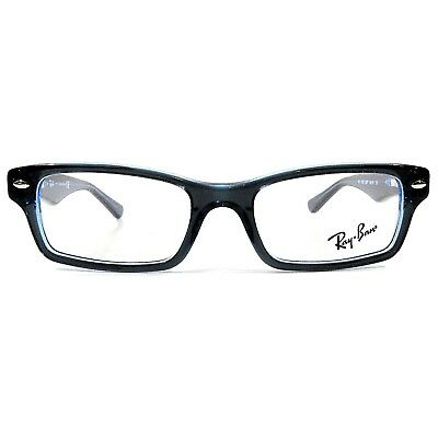 NEW RAY BAN Junior Optical Eyeglasses RX Frame RB 1530 3667 Blue 48 ... 59fe94d848b86