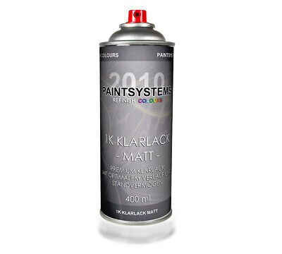 1K Klarlack matt Spraydose 400ml