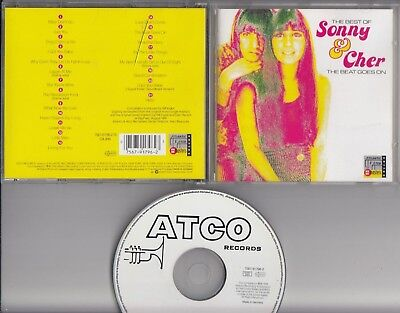 SONNY & CHER The Beat Goes On The Best Of CD ATLANTIC MASTERS