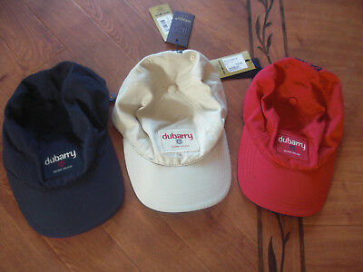 Bnwt Dubarry Of Ireland Achill Unisex Baseball Cap Red,navy Or Sand.golf,equine.