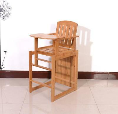 Solid Wood Multifunctional Removable Children's Chair Baby Eating Chair Portable