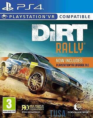 Dirt Rally VR PS4 Game (PSVR Compatible)