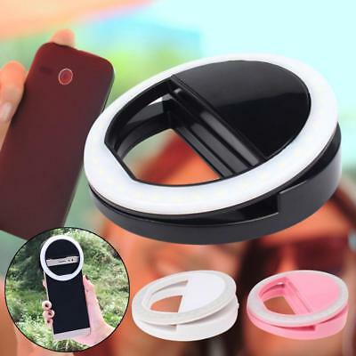 Anillo de luz LED Flash selfie camara fotografia para Iphone movil BF