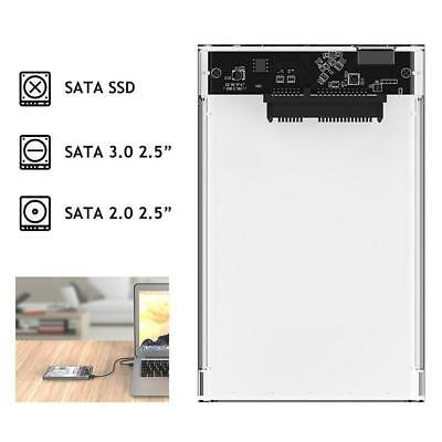 HDD Case USB 3.0 to SATA Box Tool Free Enclosure for SSD External Hard Drive FB