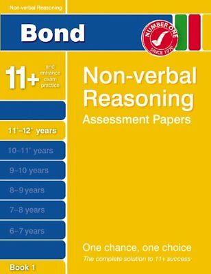 Bond Fifth Papers in Non-verbal Reasoning: 11-12+ Years (Bond Assessment Paper,
