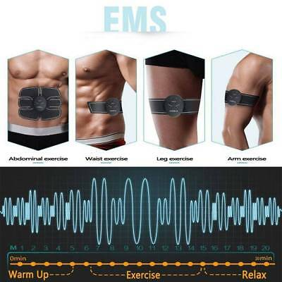 Smart Stimulator Training Fitness Muscle Abdominal Waist Leg Arm Belt Trainer