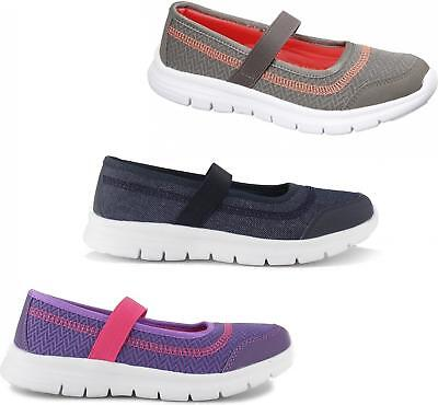 Shumo RAFT Ladies Womens Casual Comfy Slip On Strap Mary Jane Pumps Trainers