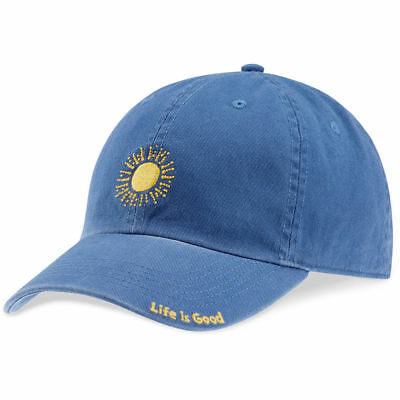 4dd52d5a2b9 LIFE IS GOOD Womenƒ Ts Sketched Sun Chill Cap Vintage Blue ONESIZE