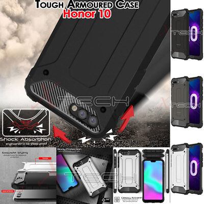 Honor 10 TOUGH ARMOURED Slim Fit Shock Proof Hard Protective Case Cover
