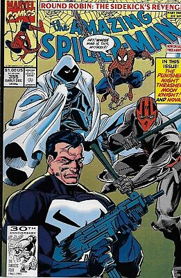 The Amazing Spider-Man (Vol.1) No.355 / 1991 Punisher / Al Milgrom & Mark Bagley