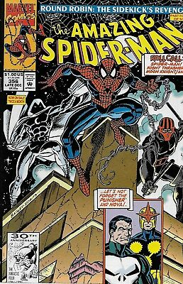 The Amazing Spider-Man (Vol.1) No.356 / 1991 Punisher / Al Milgrom & Mark Bagley