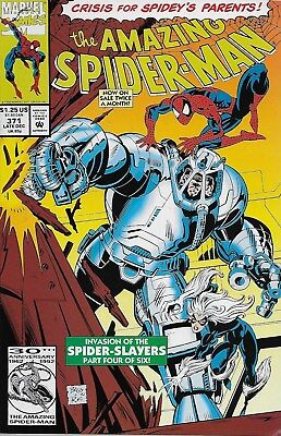 The Amazing Spider-Man (Vol.1) No.371 / 1992 David Micheline & Mark Bagley
