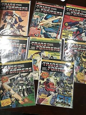 Marvel G1 TRANSFORMERS UK #1-332 Complete Comic Book Collection Lot Magazine 113