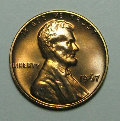 1967 Special Mint Set Lincoln Cent   Sms