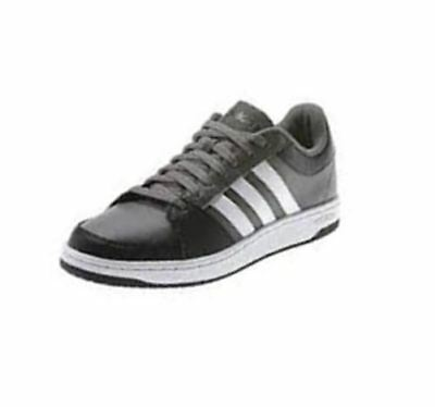 separation shoes 7af65 bbb17 Adidas Neo VLNEO Hoops Lo II Sneaker Iron(Gray) White Men s Shoes F38081