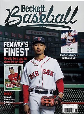 New Current Beckett Baseball Price Guide Magazine August