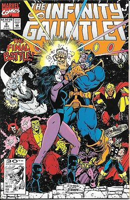The Infinity Gauntlet #6 Thanos Warlock Silver Surfer
