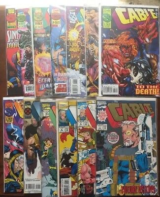 Lot Of 24 Cable Marvel Comics #1-5 16 19-24 26 28-33 35-38 44