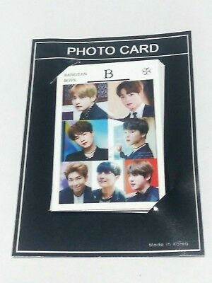 BTS BangTan Boys Photo Sign Card 10 pcs KPOP V Jhope Jimin JungKook Suga Jin Rap