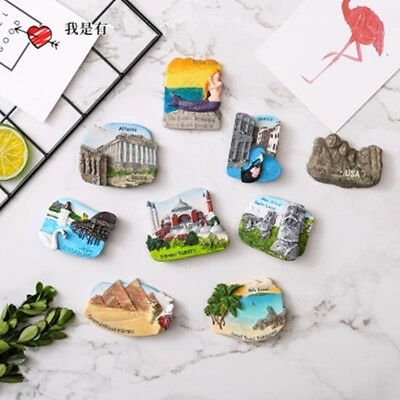 Tourist Travel Souvenir 3D Resin Fridge Magnet Refrigerator Magnet Travel Gift