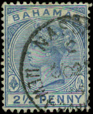 Bahamas Scott #28a Used