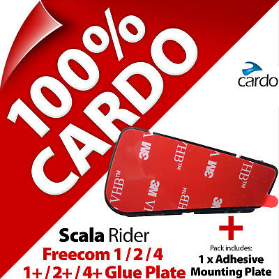 Cardo Scala Rider Replacement Glue Plate for Freecom 1 2 3 4 Motorcycle Helmet