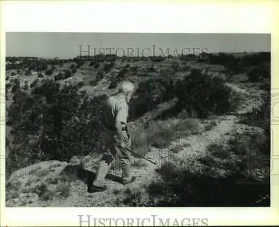 1992 Press Photo Phil Evett of Blanco - saa14149