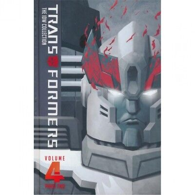 Transformers IDW Collection: Phase 2: Volume 4 (Hardcover)