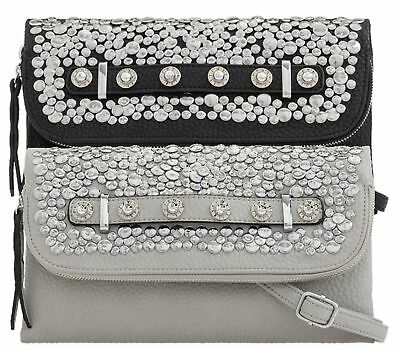 Womens Studs Faux Leather Envelope Party Prom Wedding Fashion Clutch Bags