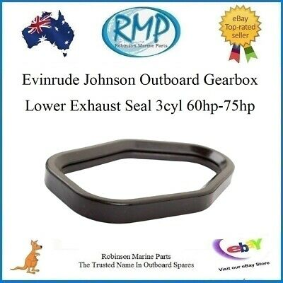 1 x Evinrude Johnson Lower Gearbox Exhaust Seal 3cyl 60hp-75hp # R 324937